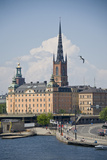 Buildings at the Waterfront, Gamla Stan, Stockholm, Sweden Photographic Print by Green Light Collection
