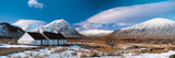 Rock Cottage Glencoe Highlands Scotland Photographic Print