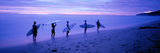 Surfers on Beach Costa Rica Photographic Print