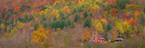 Autumn Scene Near Woodstock Vermont USA Photographic Print