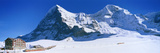 Eiger Monch Kleine Scheidegg Switzerland Fotografisk tryk