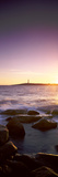 Lighthouse on an Island at Sunset, Cape Leeuwin, Western Australia, Australia Photographic Print