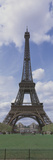 Low Angle View of a Tower, Eiffel Tower, Paris, Ille-De-France, France Photographic Print
