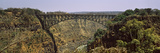 The Victoria Falls Bridge Between Zimbabwe and Zambia Spans the Gorge Below the Falls, Zambia Photographic Print
