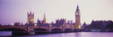 Sunset Big Ben London England Photographic Print