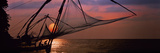 Fishing Nets Cochin India Photographic Print