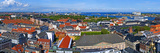 High Angle View of Buildings in a City, Kastellet, Copenhagen, Denmark Photographic Print