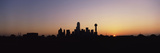 Sunrise Skyline Dallas Tx USA Photographic Print