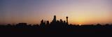 Sunrise Skyline Dallas Tx USA Photographic Print