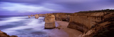Rock Formations in the Sea, Twelve Apostles Sea Rocks, Great Ocean Road Photographic Print