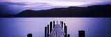 Jetty at Brandelhow Bay, Derwent Water, Lake District National Park, Cumbria, England Photographic Print
