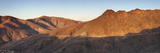 Sunlight on Mountains Viewed from Degollada De Los Granadillos, Betancuria Massif Photographic Print