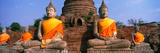 Buddha Statues Near Bangkok Thailand Photographic Print