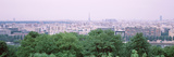 High Angle View of a City, Saint-Cloud, Paris, France Photographic Print