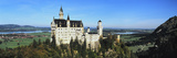 Castle on a Hill, Neuschwanstein Castle, Ostallgau, Bavaria, Germany Photographic Print