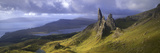 Rock Formations on Hill, Old Man of Storr, Isle of Skye, Scotland Photographic Print