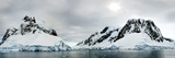 Mountains and Glaciers, Lemaire Channel, Antarctic Peninsula Photographic Print