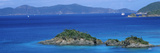 Islands in the Sea, Trunk Bay, Virgin Islands National Park, St. John, Us Virgin Islands Photographic Print
