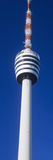Low Angle View of a Television Tower, Fernsehturm Stuttgart, Stuttgart, Baden-Wurttemberg, Germany Photographic Print