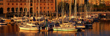 Port Vell and Catalan History Museum Barcelona Spain Papier Photo