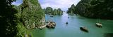 Boats in Halong Bay, Gulf of Tonkin, Vietnam Photographic Print