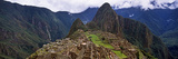 Ruins of Buildings at an Archaeological Site, Inca Ruins, Machu Picchu, Cusco Region, Peru Fotografie-Druck