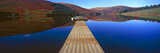 Pier at a Lake, St Mary's Loch, Scottish Borders, Scotland Photographic Print