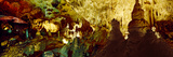 Stalactites and Stalagmites Formation in a Cave, Carlsbad Caverns National Park Photographic Print