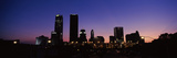 Downtown Skyline at Night, Oklahoma City, Oklahoma, USA 2012 Photographic Print