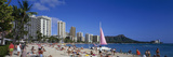 Waikiki Beach Oahu Island Hi USA Photographic Print