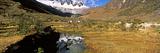 River Flowing Through a Valley, Urubamba Valley, Machu Picchu, Cusco Region, Peru, South America Photographic Print