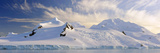 Mountain Covered by Glaciers, Half Moon Bay, Antarctic Peninsula, Antarctica Photographic Print