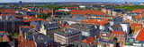 High Angle View of Buildings in a City, Copenhagen, Denmark Photographic Print