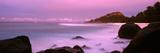 Sunset over Main Beach on North Island, Seychelles Photographic Print