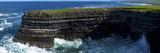 Distant Sea Anglers on Downpatrick Head, County Mayo, Republic of Ireland Photographic Print