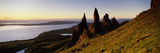 Rock Formations on the Coast, Old Man of Storr, Trotternish, Isle of Skye, Scotland Photographic Print