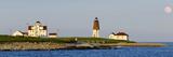 Lighthouse on the Coast, Point Judith Lighthouse, Narragansett Bay, Washington County Photographic Print