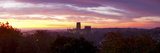 Durham Cathedral View from Wharton Park at Sunrise, Durham, County Durham, England Photographic Print