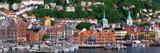 Bergen Norway Fotografisk tryk