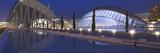 Opera House at the Waterfront, Ciutat De Les Arts I Les Ciencies, Valencia, Spain Photographic Print