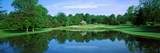 Reflection of Trees on Water, Wilmington Country Club, Wilmington, Delaware, USA Photographic Print