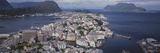 Cityscape Alesund Norway Photographic Print