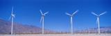Wind Turbines Near Palm Springs Ca Photographic Print