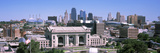 Union Station with City Skyline in Background, Kansas City, Missouri, USA 2012 Photographic Print