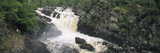 Waterfall in a Forest, Rogie Falls, Black Water River, Inverness, Ross and Cromarty Photographic Print