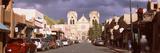 Street Leading Towards St. Francis Cathedral, Santa Fe, New Mexico, USA Photographic Print