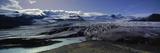 Glaciers in a Lake, Vatnajokull, Fjallsarlon, Jokulsarlon Lagoon, Iceland Photographic Print
