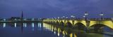 Pierre Bridge Bordeaux France Lámina fotográfica