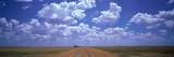 Clouds over Prairie Amarillo Tx Photographic Print