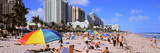 Tourists Enjoying on the Beach, Fort Lauderdale, Broward County, Florida, USA Photographic Print